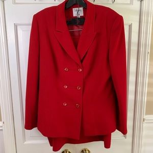 COLLECTIONS FOR LE SUIT 2 PIECE SKIRT AND BLAZER